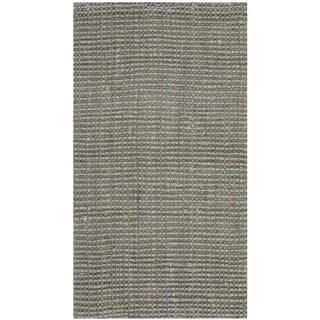 Safavieh Casual Natural Fiber Hand-loomed Grey Jute Rug (2' x 3')