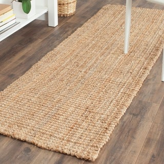 Safavieh Casual Natural Fiber Hand-loomed Natural Jute Rug (2'3 x 19')