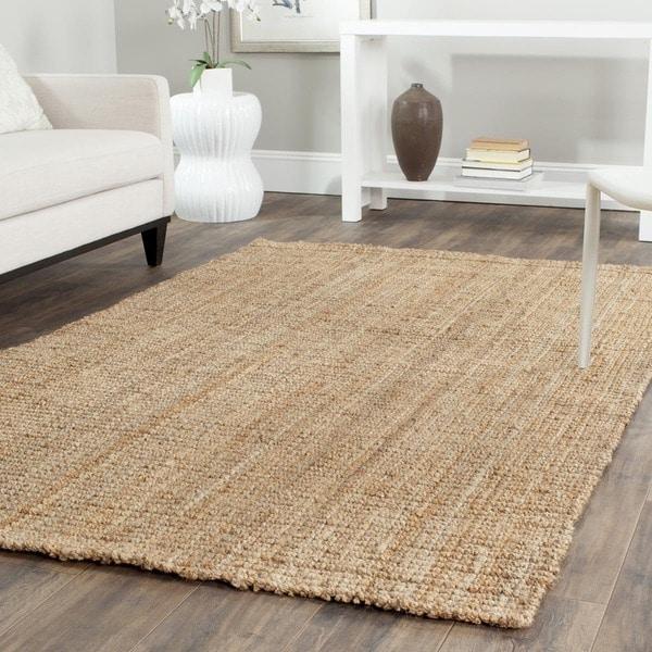 Safavieh casual natural fiber hand loomed natural jute rug - Alfombra yute ikea ...
