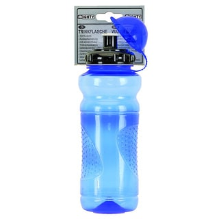 Blue Transparent Water Bottle