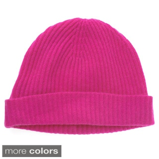 Ply Cashmere Women's Ribbed Hat