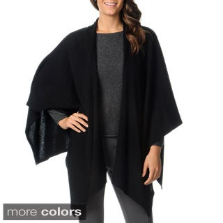 Ply Cashmere Women's Square Back Wrap