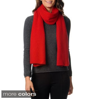 Ply Cashmere Women's Jersey Knit Scarf