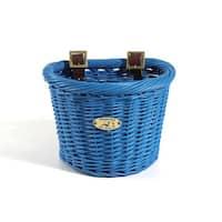 Buoy Collection Child-size Royal Blue Oval Basket