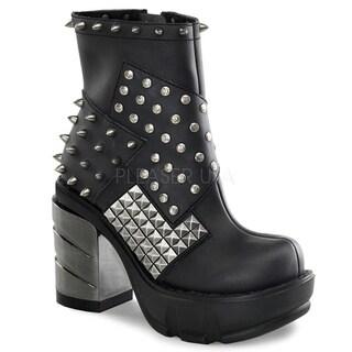 Demonia 'Sinister-64' Women's 3.5-inch Platform Heel Bootie