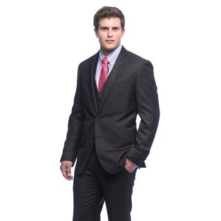 Kenneth Cole Reaction Men's Charcoal Suit Separates Coat