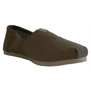 Women's Khaki Canvas Casual Shoes