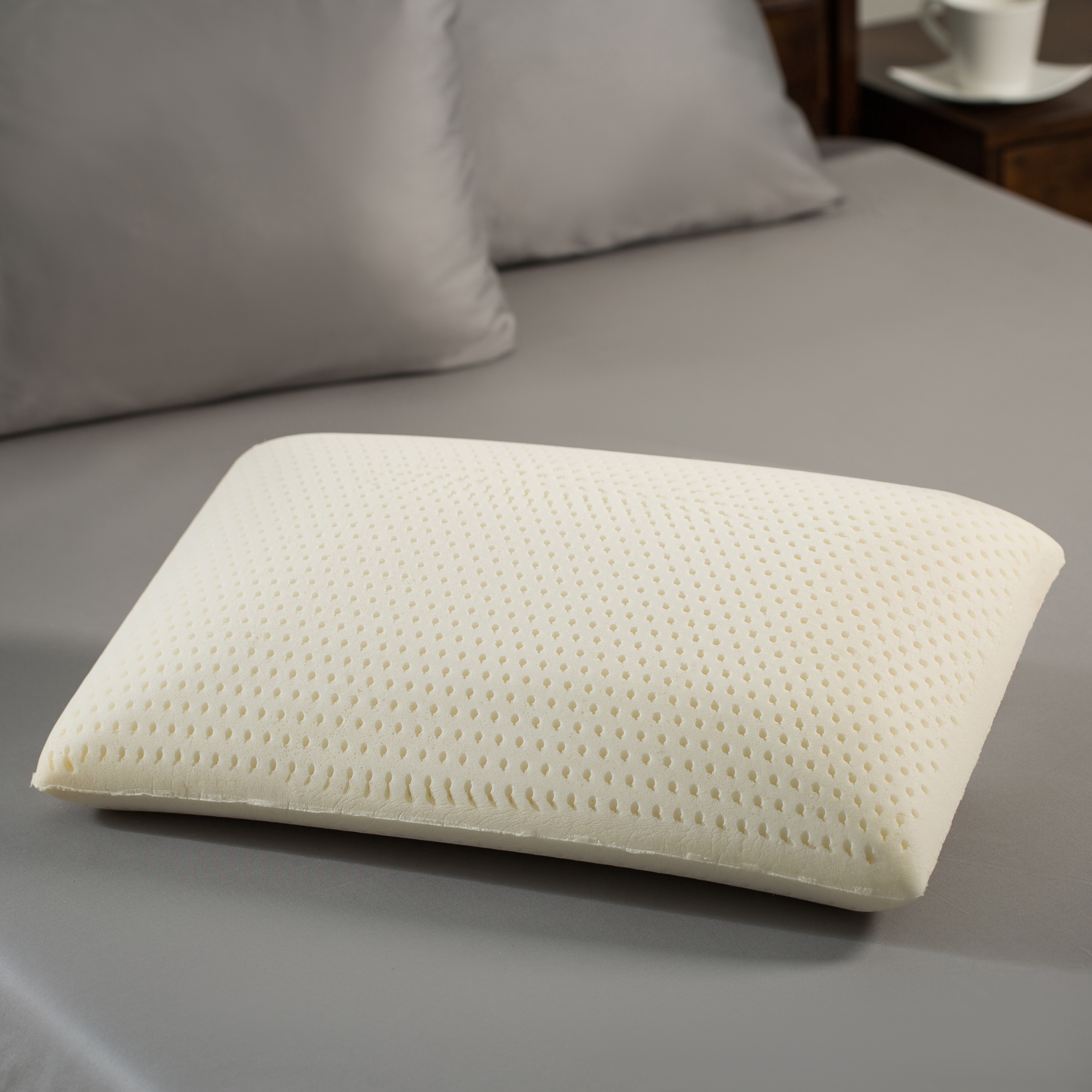 Shop Premium Natural Latex Foam Pillow On Sale Overstock 83870