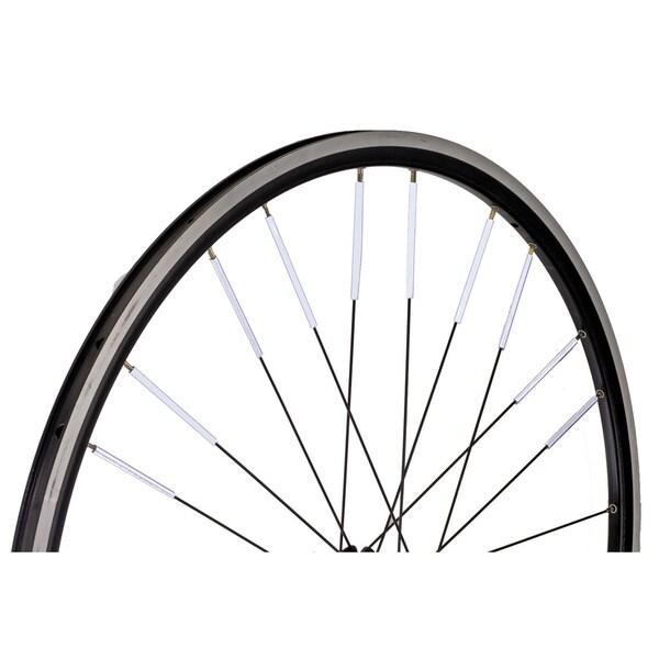 3M Scotchlite Silver Black Bicycle Spoke Reflectors