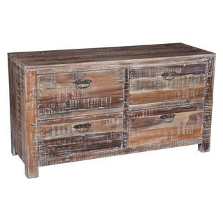 Hamshire Reclaimed Wood 4-drawer Dresser by Kosas Home