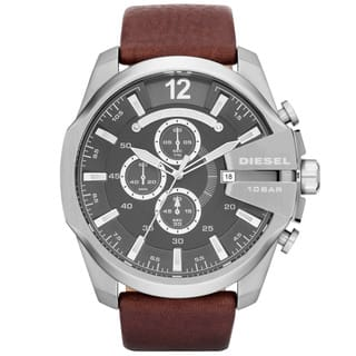 Diesel Men's DZ4290 Brown Leather Strap Watch|https://ak1.ostkcdn.com/images/products/8387138/P15690408.jpg?impolicy=medium