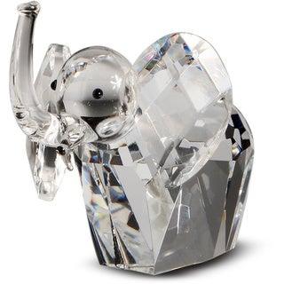 Crystal Florida Crystal African Elephant Figurine