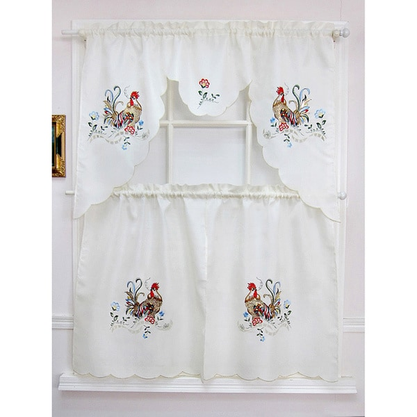 Curtains Ideas tier curtain sets : ... Curtain Sets - 15690434 - Overstock.com Shopping - Top Rated Curtain