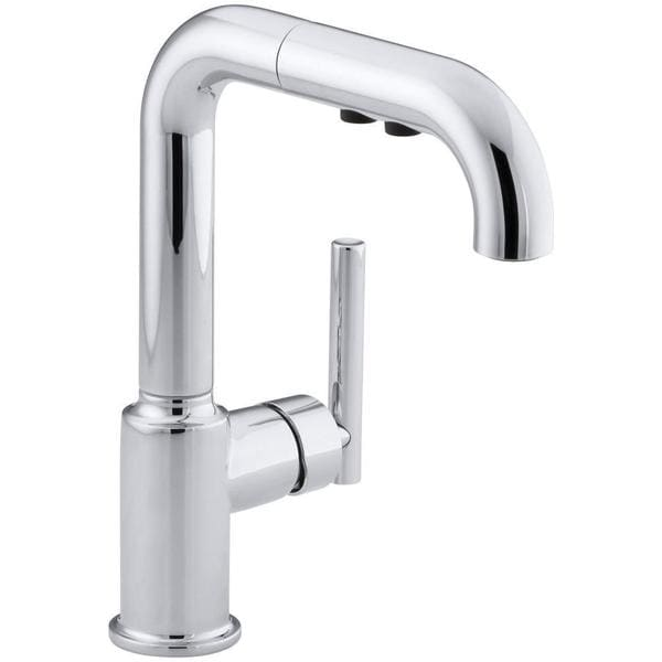 sink faucet kohler k 7506 purist secondary single hole kitchen sink faucet