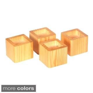 Richards Homewares Furniture Bed Risers Table Set of 4