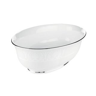 Lenox 'Hannah Platinum' 9.5-inch Open Vegetable Bowl
