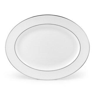 Lenox 'Hannah Platinum' 16-inch Oval Platter
