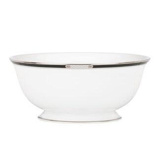 Lenox 'Hancock Platinum White' 8.5-inch Serving Bowl