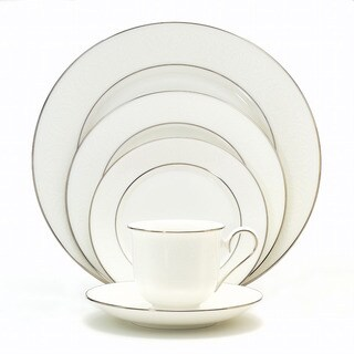 Lenox 'Hannah Platinum' 5-piece Dinnerware Place Setting
