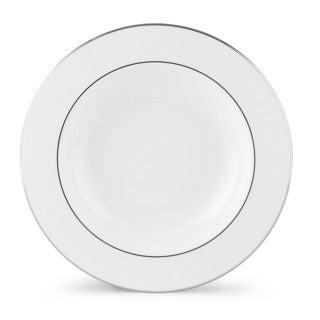 Lenox 'Hannah Platinum' 9-inch Pasta/ Rim Soup Bowl