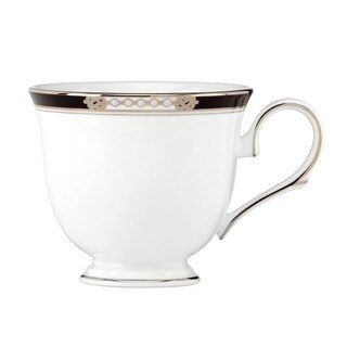 Lenox 'Hancock Platinum White' 6-ounce Teacup