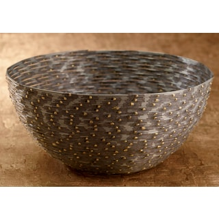 10-inch Iron Coiled Wire Basket