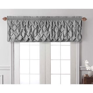 Kitchen Curtains black and silver kitchen curtains : Valances - Shop The Best Deals For Apr 2017