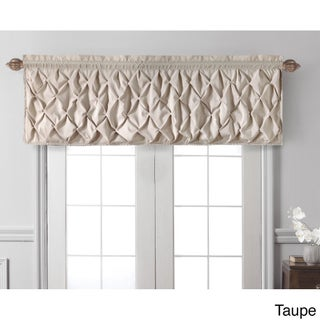 VCNY Carmen Tailored Window Valance (Option: Taupe)