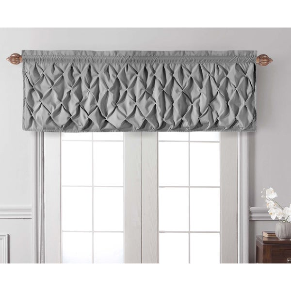VCNY Carmen Tailored Window Valance. Opens flyout.