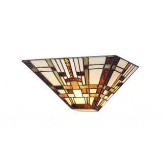 Link to Tiffany Style Mission Design 1-light Wall Sconce Similar Items in Sconces
