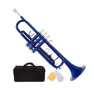Bb Student Colored Trumpet and Giardinelli Care Kit