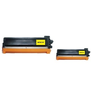 INSTEN 2-ink Yellow Cartridge Set for Brother TN210 Y