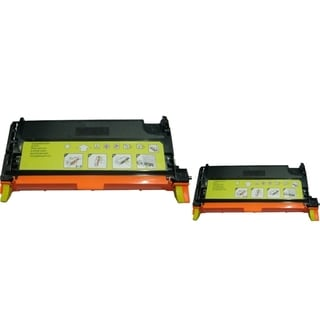 INSTEN 2-ink Yellow Cartridge Set for Dell 3130/ 3130CN