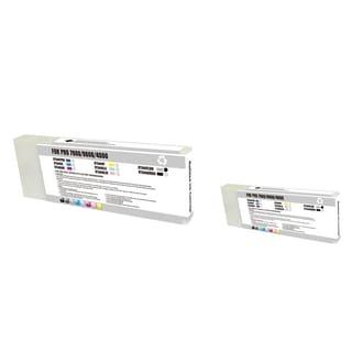 INSTEN 2-ink Light Blue Cartridge Set for Epson T544700LB