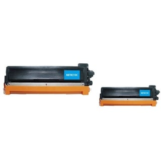 INSTEN 2-ink Cyan Cartridge Set for Brother TN210 C