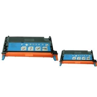 INSTEN 2-ink Cyan Cartridge Set for Dell 3130/ 3130CN