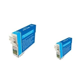 INSTEN Epson T125220 2-ink Cyan Cartridge Set (Remanufactured)