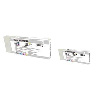 INSTEN Epson T544500 LC Light Cyan 2-ink Cyan Cartridge Set (Remanufactured)