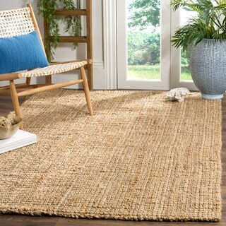 Safavieh Casual Natural Fiber Hand-Woven Natural Jute Rug - 11' x 16'