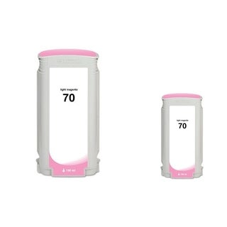 Insten Light Magenta Remanufactured Ink Cartridge Replacement for HP C9455A/ 70