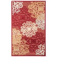 Safavieh Paradise Red Viscose Rug - 2'7 x 4'