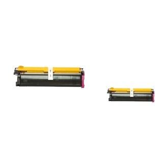 Insten Premium Magenta Color Toner Cartridge 1710517-007 for MagiColor 2300/ 2350