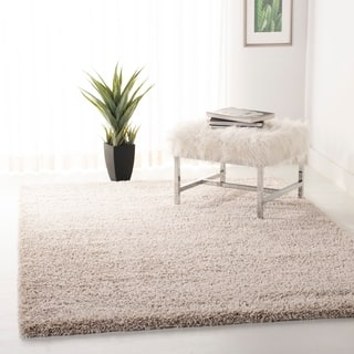 Safavieh California Cozy Plush Beige Rug 8 6 Square