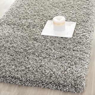 Safavieh California Cozy Plush Silver Shag Rug (2'3 x 13')