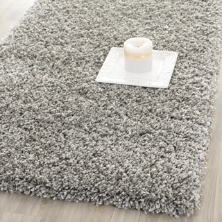 Safavieh California Cozy Plush Silver Shag Rug (2'3 x 5')