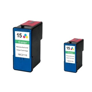 Refilled Insten Color Remanufactured Ink Cartridge Replacement for Lexmark