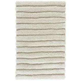 Safavieh Handmade Shag Pearl Polyester Rug (2'6 x 4')