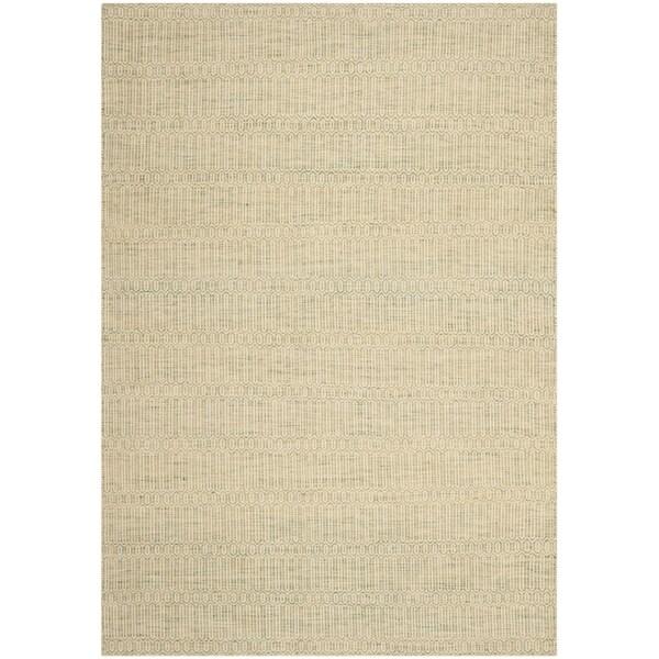 Safavieh Hand-woven Sumak Green Wool Rug - 8' x 10'