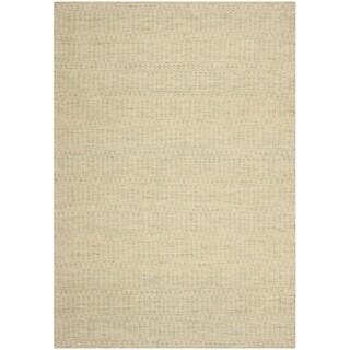 Safavieh Hand-woven Sumak Green Wool Rug (8' x 10')