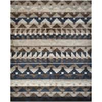 Safavieh Tahoe Beige/ Grey Rug - 5'1 x 7'6
